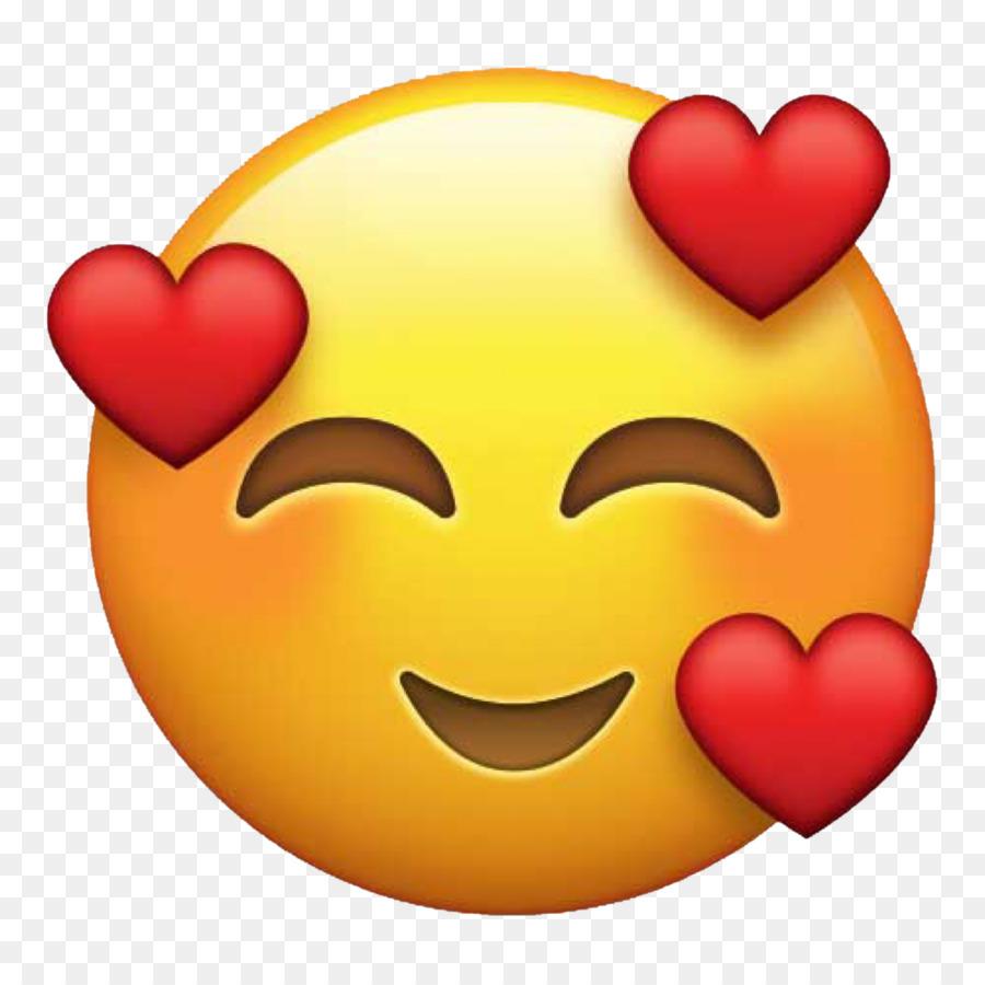 Emoji Love Heart Sticker Emoticon - Emoji 1024*1024 ...