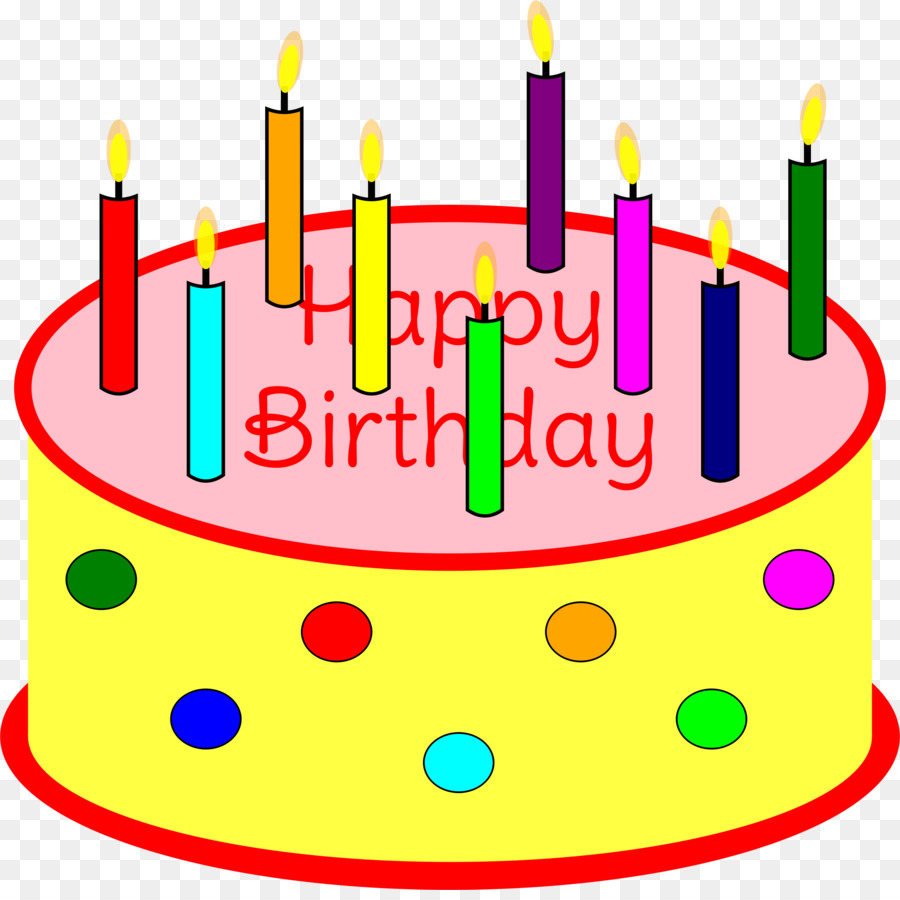 Birthday Cake Candle Clip Art Birthday Png Download 22942269