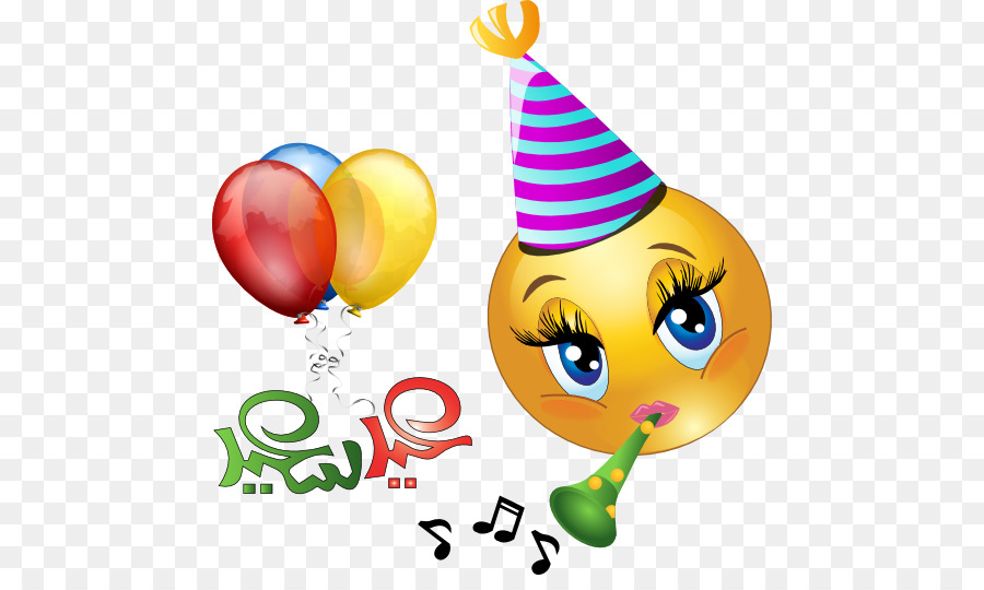 Birthday Emoticon Emoji Smiley Clip Art