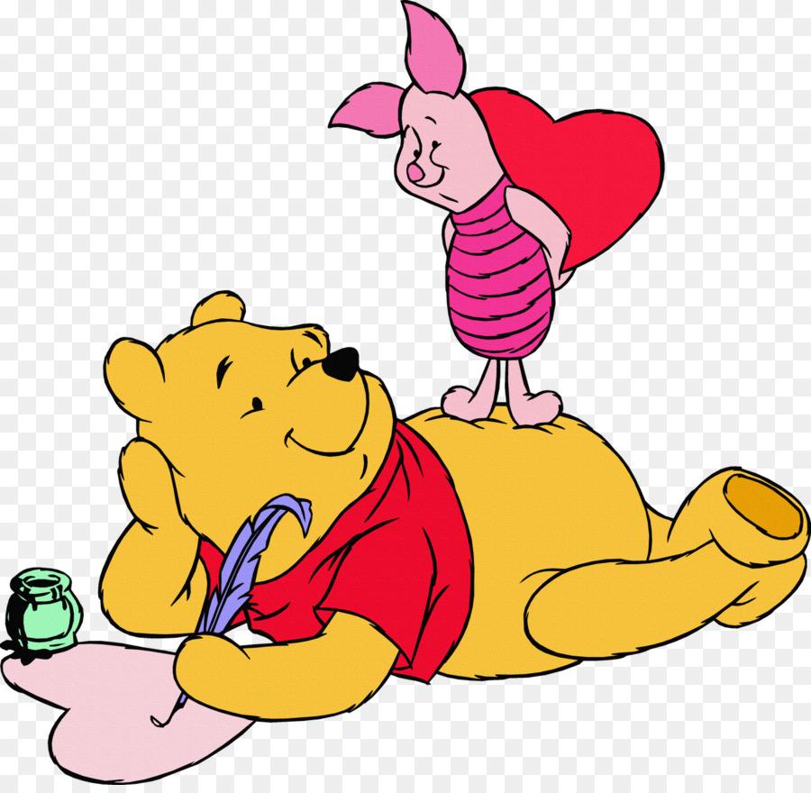 winnie the pooh minnie mouse piglet valentine s day clip art rh kisspng com Disney Winnie the Pooh Clip Art Disney Winnie the Pooh Clip Art
