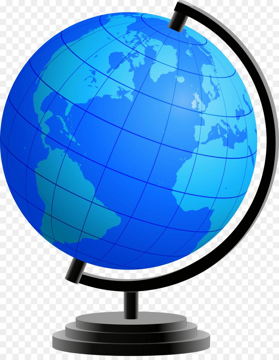 Globe school. Cartoon earth png download