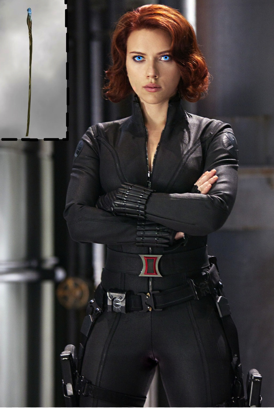 Png Scarlett Johansson Black Widow Captain America Iro 666723 on Black Brown Border