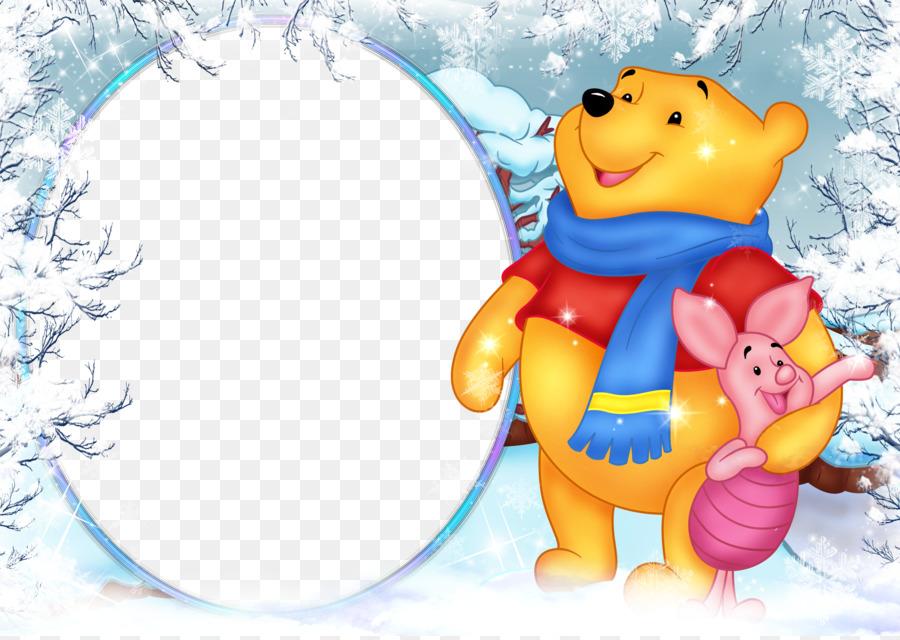 Winnie The Pooh Piglet Tigger Picture Frames Clip Art Winnie Pooh