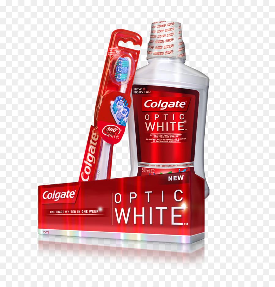 Enxaguatorio Bucal Colgate Creme Dental O Clareamento Dental Escova
