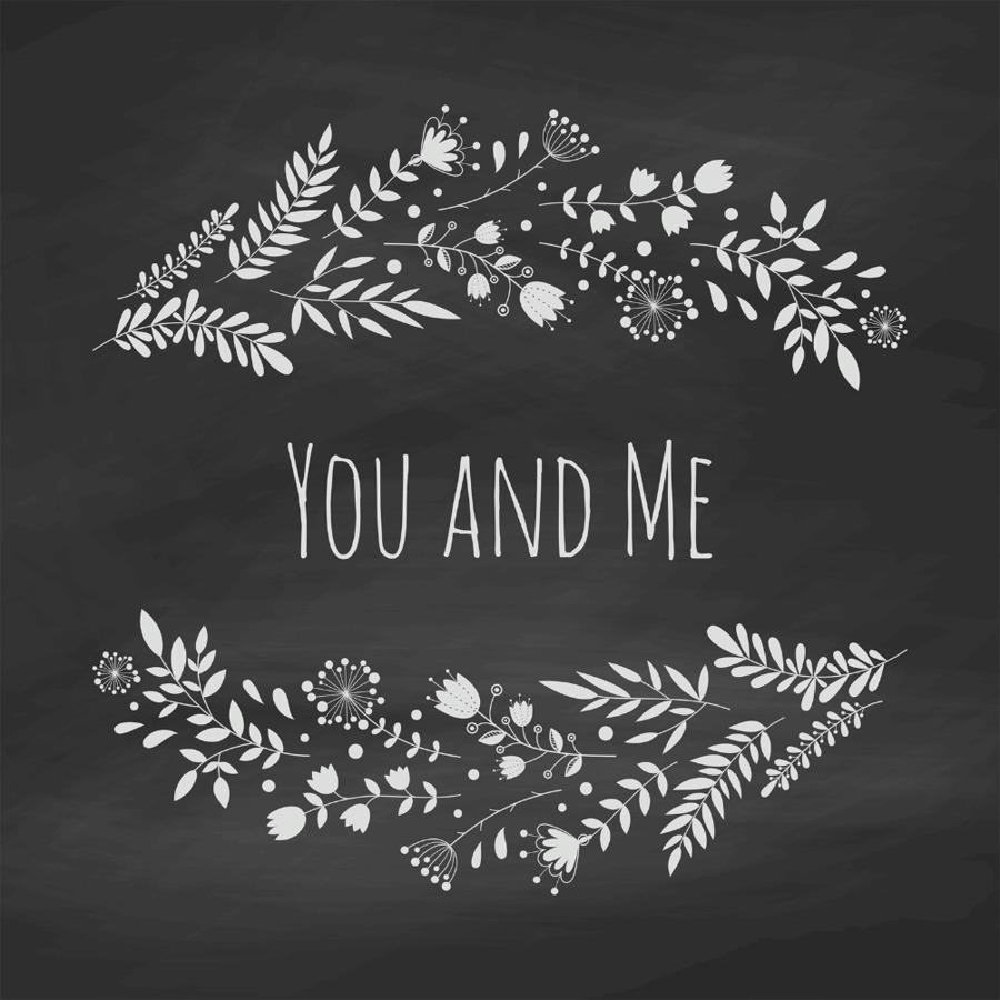 wedding invitation chalk flower blackboard chalkboard png download
