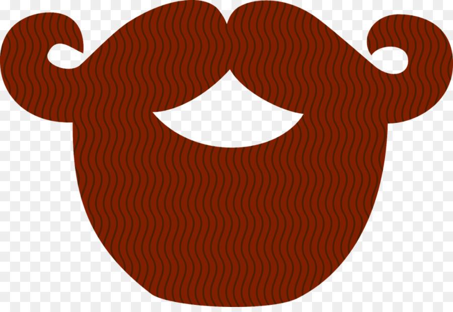 Brown beard. Movember png download free