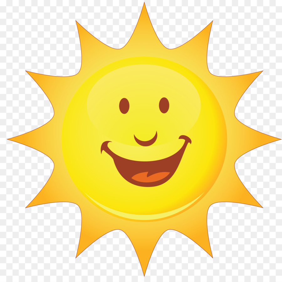 smiley smiling sun clip art summer png download 2500 2456 free rh kisspng com smiling sun clipart Smiling Sun with Colored Background