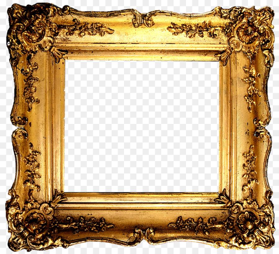 Picture Frames Gold Clip art - frame png download - 1600*1455 - Free ...