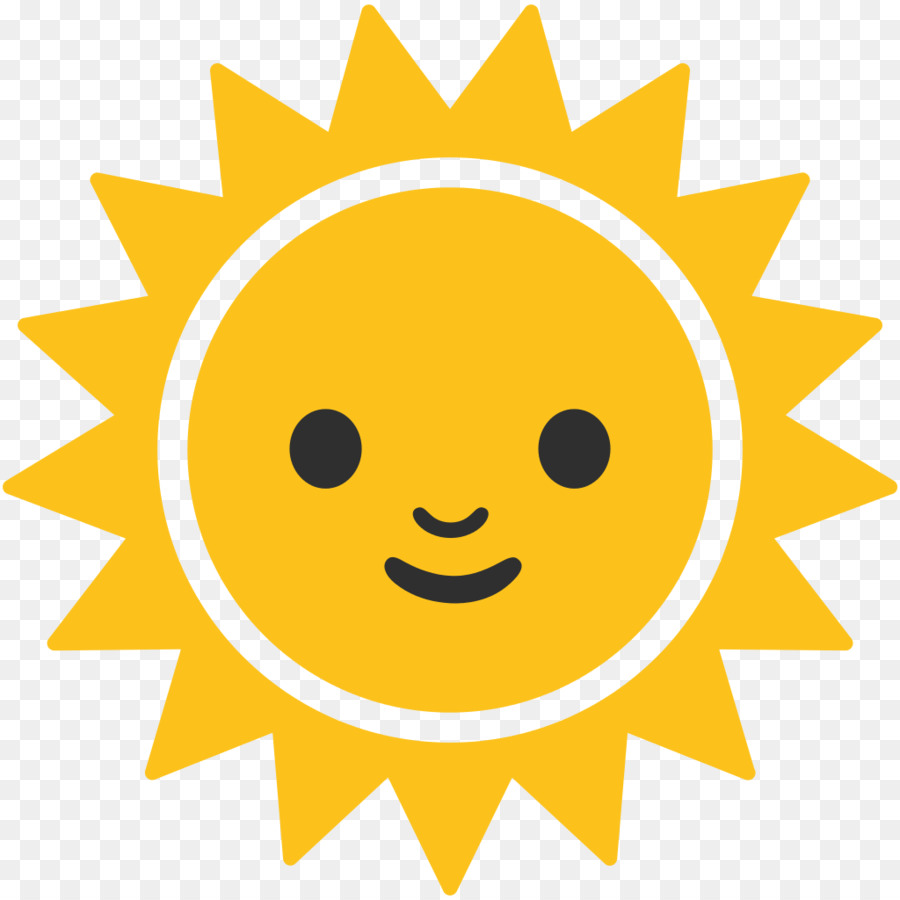 Emoji Android Symbol Computer Icons Unicode Sun Png Download