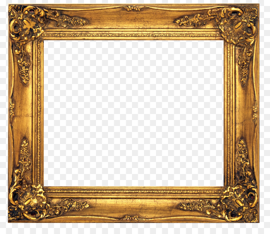 Old Fashioned Picture Frames Stock Photography Clip Art