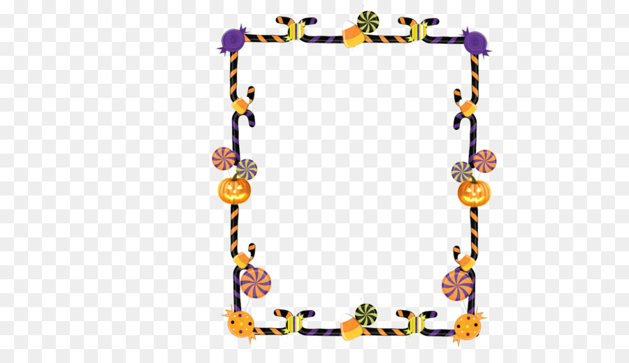 Candy corn Candy cane Borders and Frames Picture Frames Halloween ...