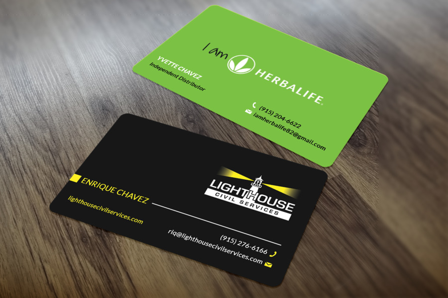 Business Card Design Business Cards Herbalife Paper Logo - business ...