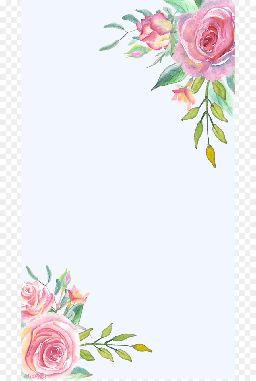 Desktop Wallpaper Flower Floral Design Home Screen Watercolor