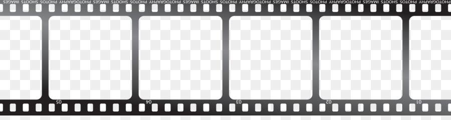 Filmstrip Film frame Clip art - Twine png download - 5973*1533 ...