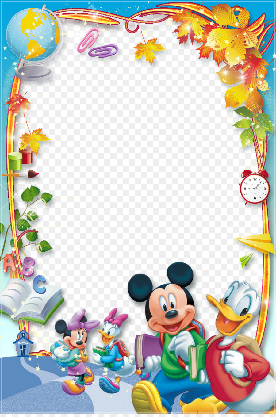 Mickey Mouse Minnie Mouse Daisy Duck Donald Duck Picture Frames