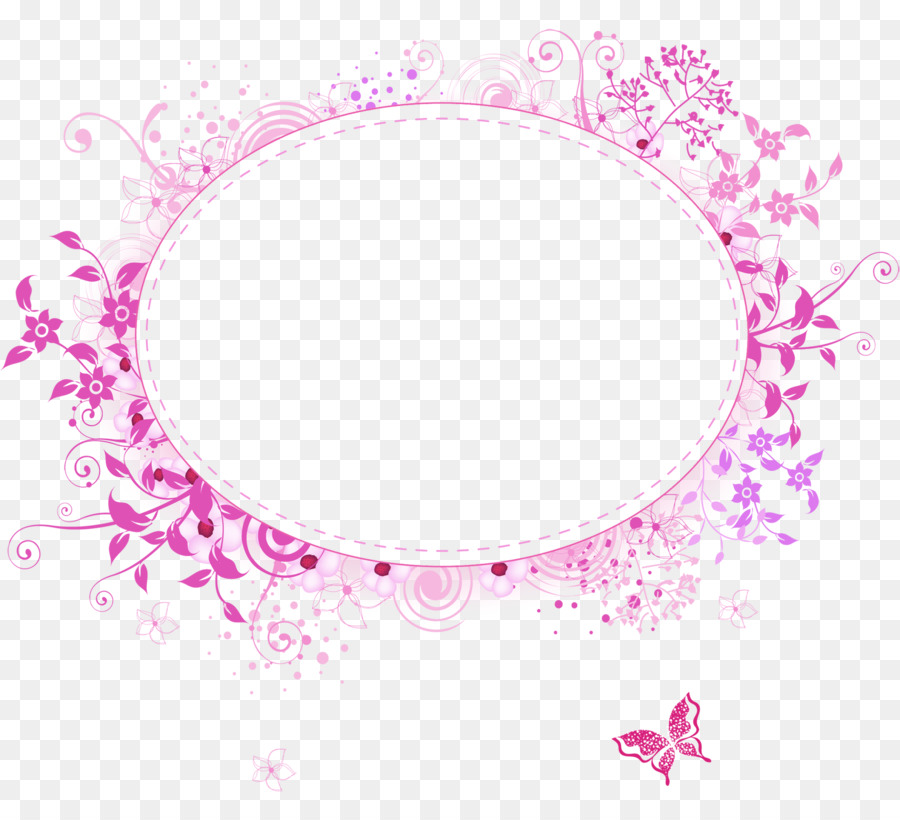Borders and Frames Picture Frames Graphic Frames Clip art - flower ...