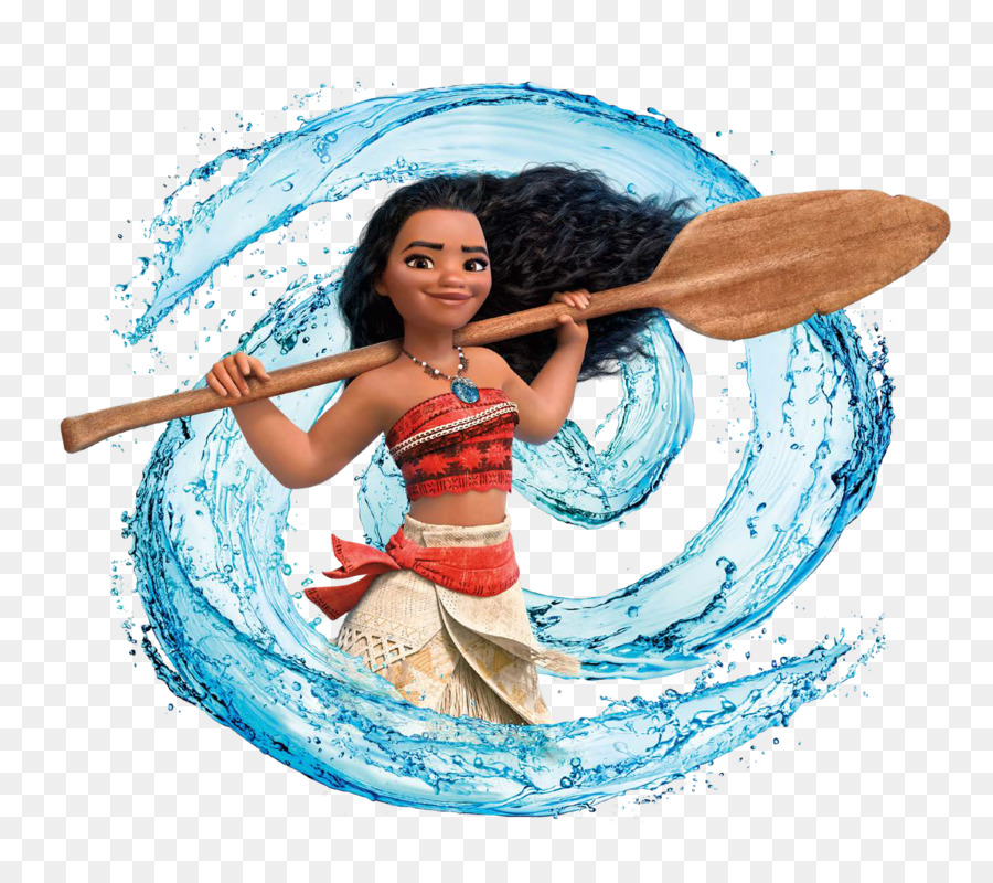 Moana Character For Birthday Party Wedding Invitation