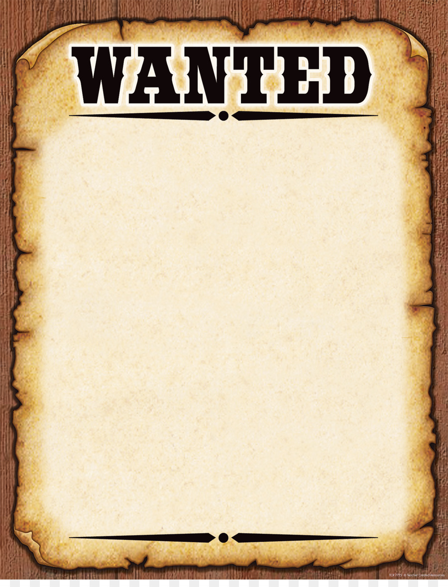 Wanted Poster Template American Frontier Poster Png Download