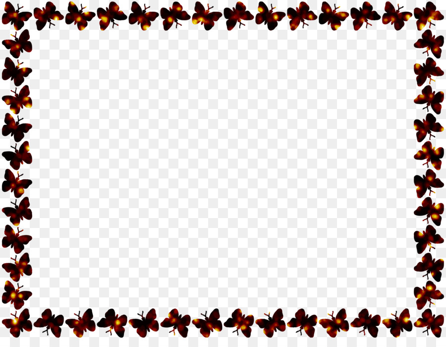 Monarch Butterfly Picture Frames Clip Art Borders Png Download