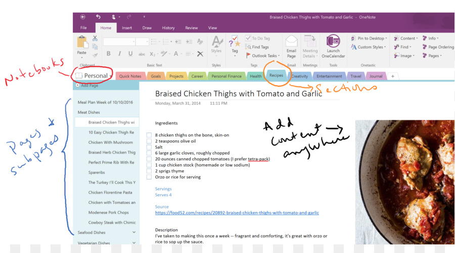 Microsoft Onenote Media png download - 1560*838 - Free