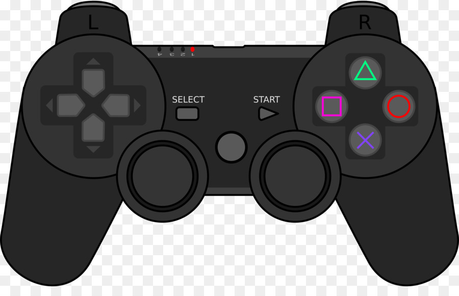 playstation 3 playstation 4 joystick game controllers clip art rh kisspng com xbox game controller clipart video game controller clip art