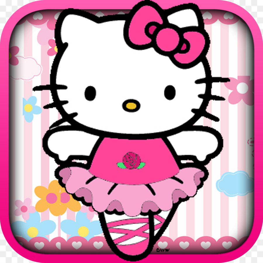 Hello Kitty Loves Mad Libs Ballet Dancer Clip Art Hello Kitty Png