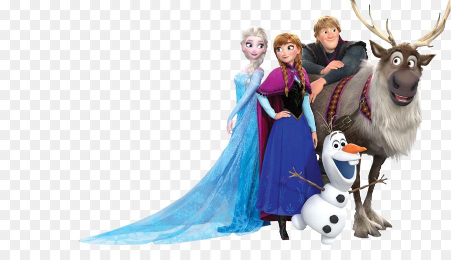 Elsa Kristoff Anna Olaf Film - Frozen png download - 7585 ...