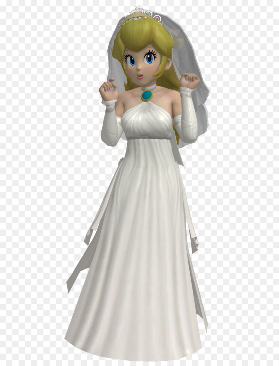 Super Mario Odyssey Princess Peach Wedding Dress Wedding Dress Png