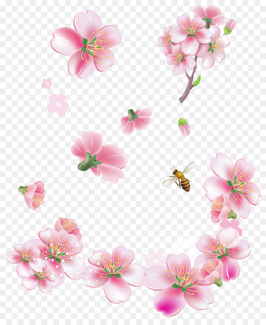 Pink Flowers Clip Art Flowers Png Download 30193637 Free