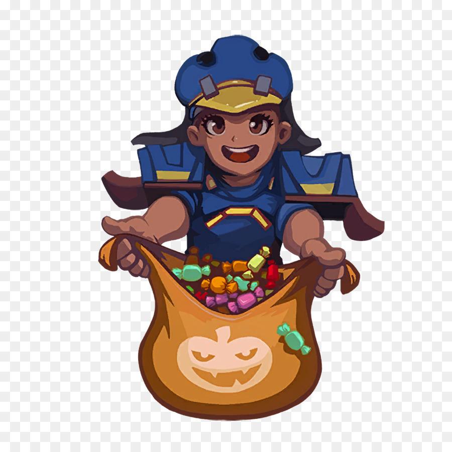 Supervisión Mei Video juego de Halloween Truco o trato - Trata ...