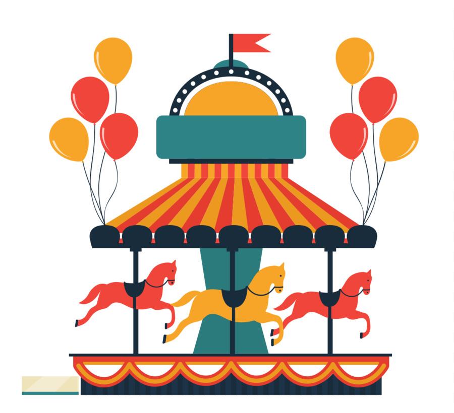 flying horse carousel amusement park clip art carousel png rh kisspng com amusement park clip art border amusement park clip art free