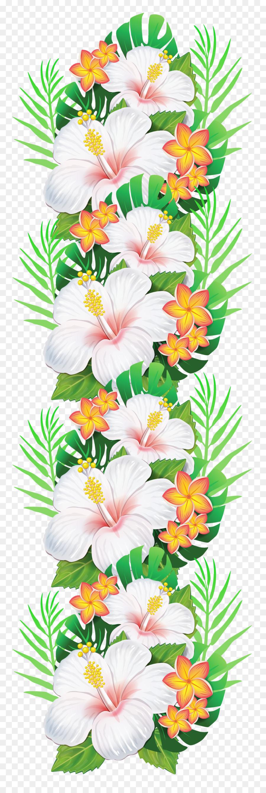 Flower garland clip art tropical flower png download 16384842 flower garland clip art tropical flower izmirmasajfo