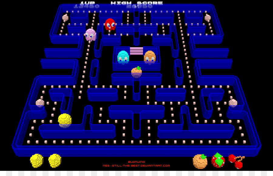 Ms Pac Man Dota 2 Arcade Game Wallpaper