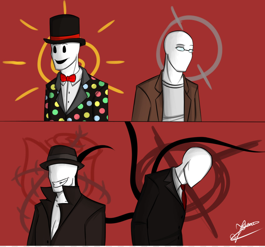 Slender The Eight Pages Rising Slenderman Art Drawing