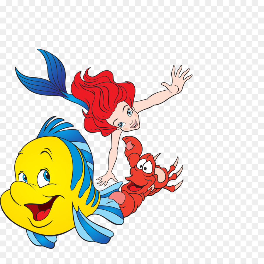 ariel sebastian king triton mermaid clip art mermaid png download
