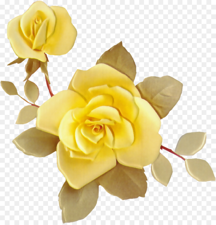 Drawing Flower Idea Clip Art Yellow Rose Png Download 11881235