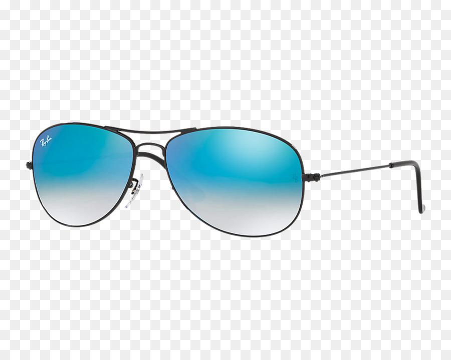 Ray-Ban Aviator gafas de sol gafas de sol de Espejo Azul - Gafas de ...