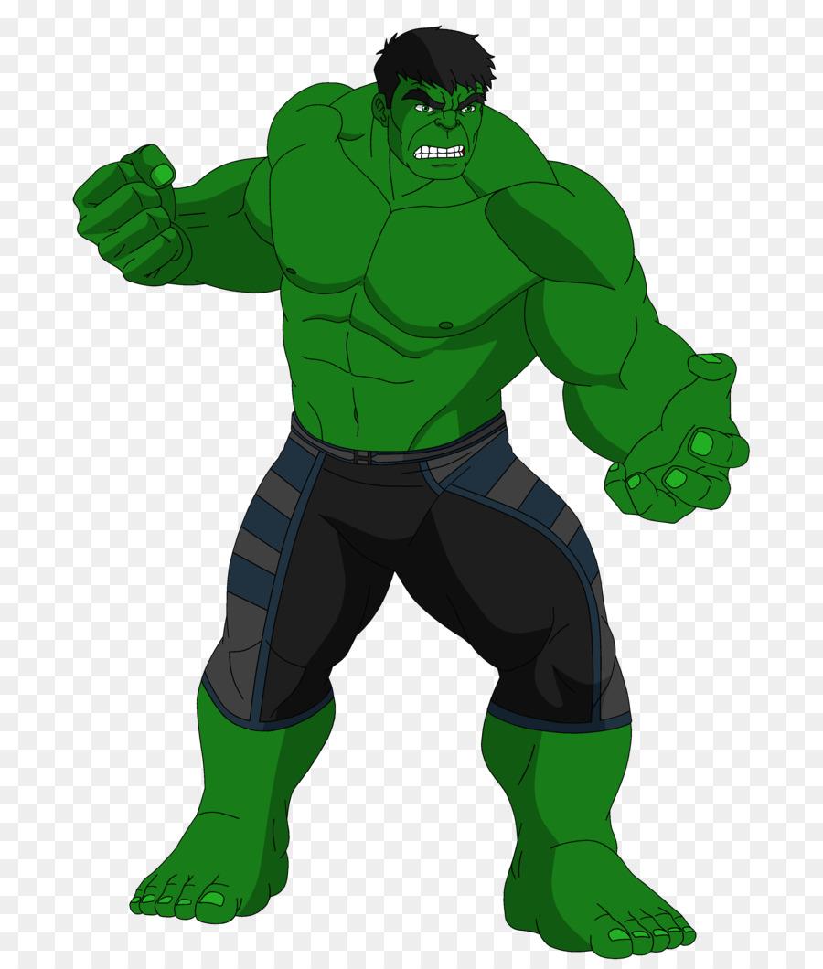 Hulk disegno animato fumetto clipart carcassa png