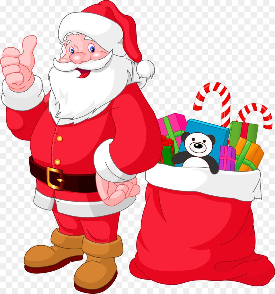 Rudolph Santa Claus Drawing Christmas Clip Art