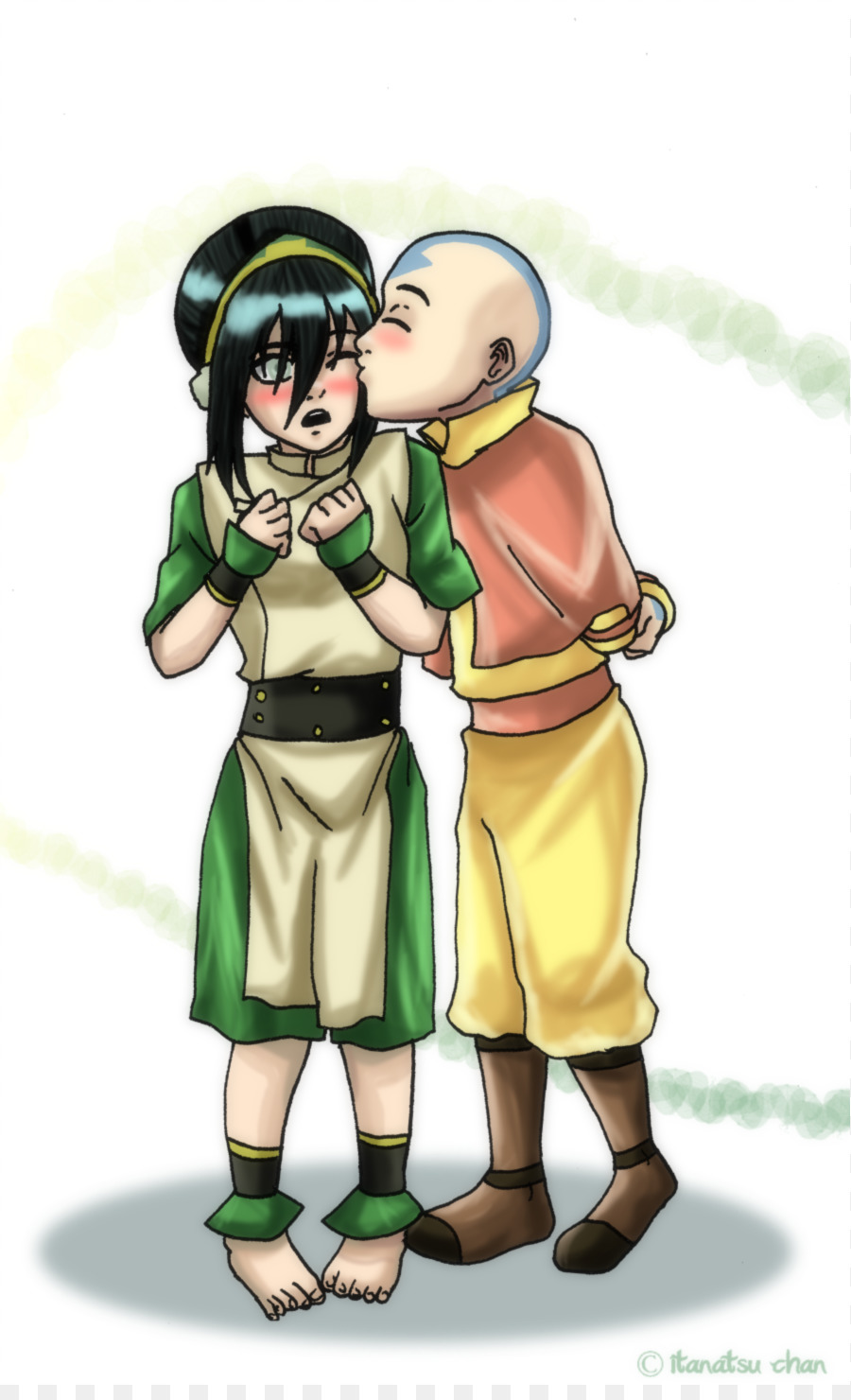 Will Aang e toph sexy image casually