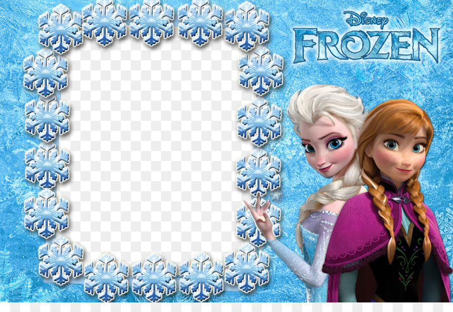 Elsa Rapunzel Anna Olaf Picture Frames - Frozen png download - 1600 ...