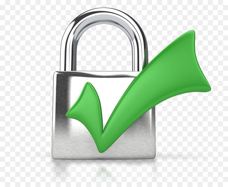 Padlock Check Mark Presentation Clip Art Security Png Download