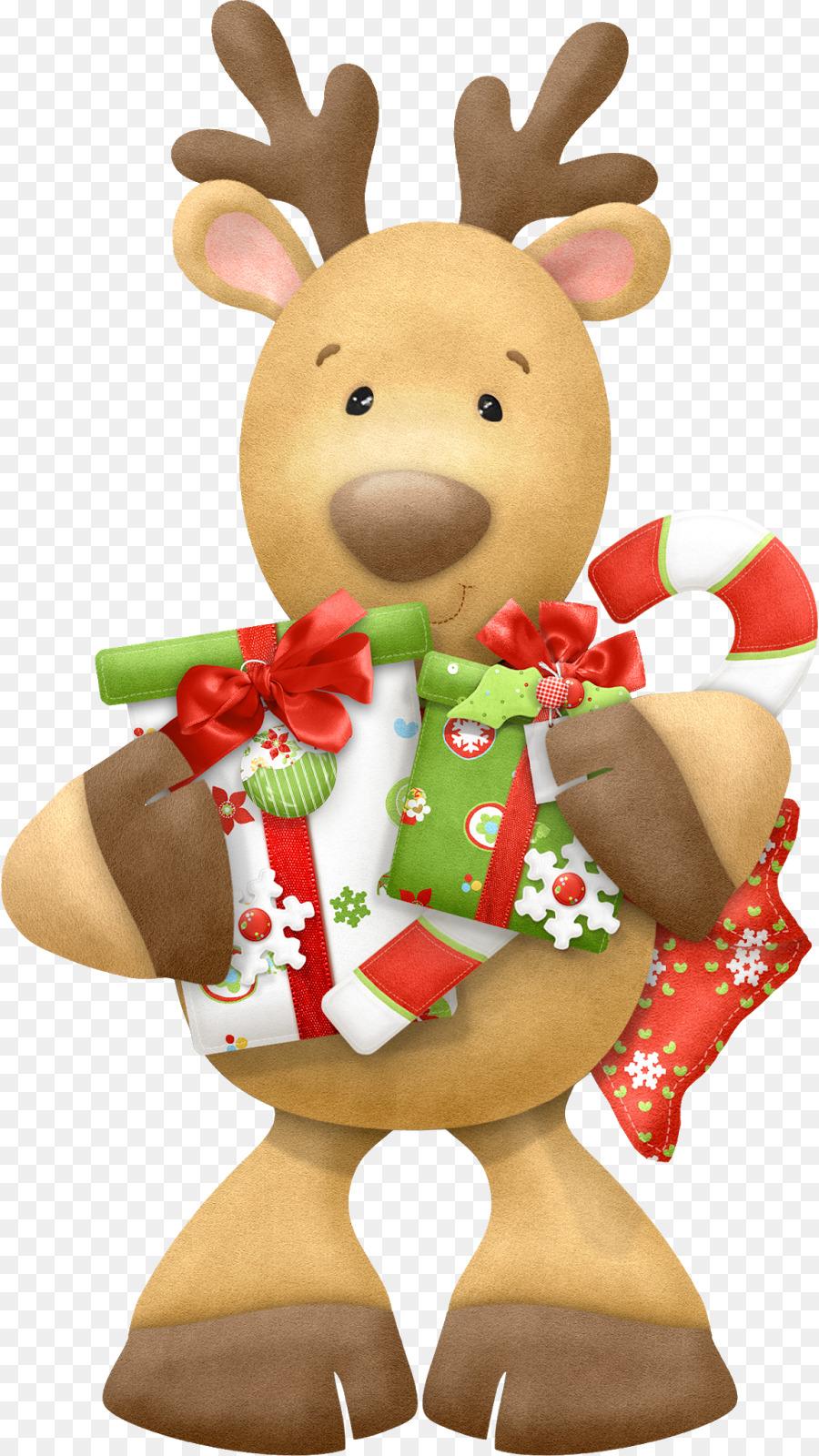 Rudolph Rentier Weihnachtsmann Weihnachtsclip Art Rentier Png