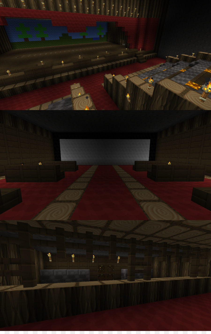 Minecraft Pocket Edition Theatre Stage Theater