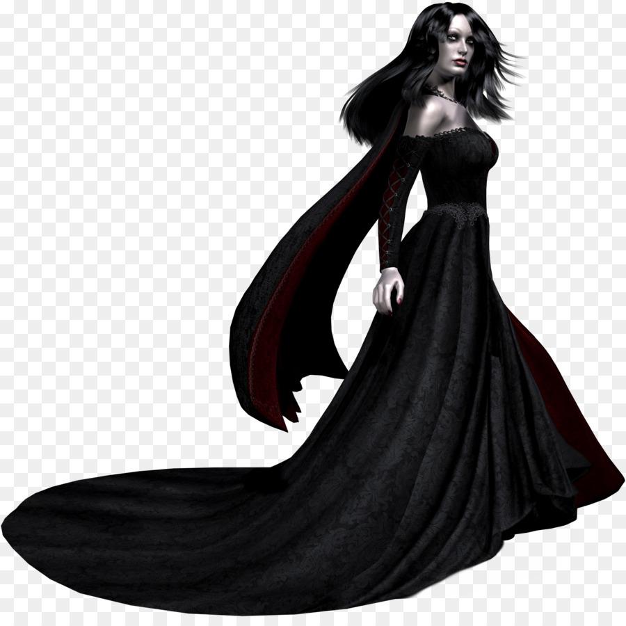 Robe Dress Halloween Evening gown - Vampire png download - 1959*1931 ...