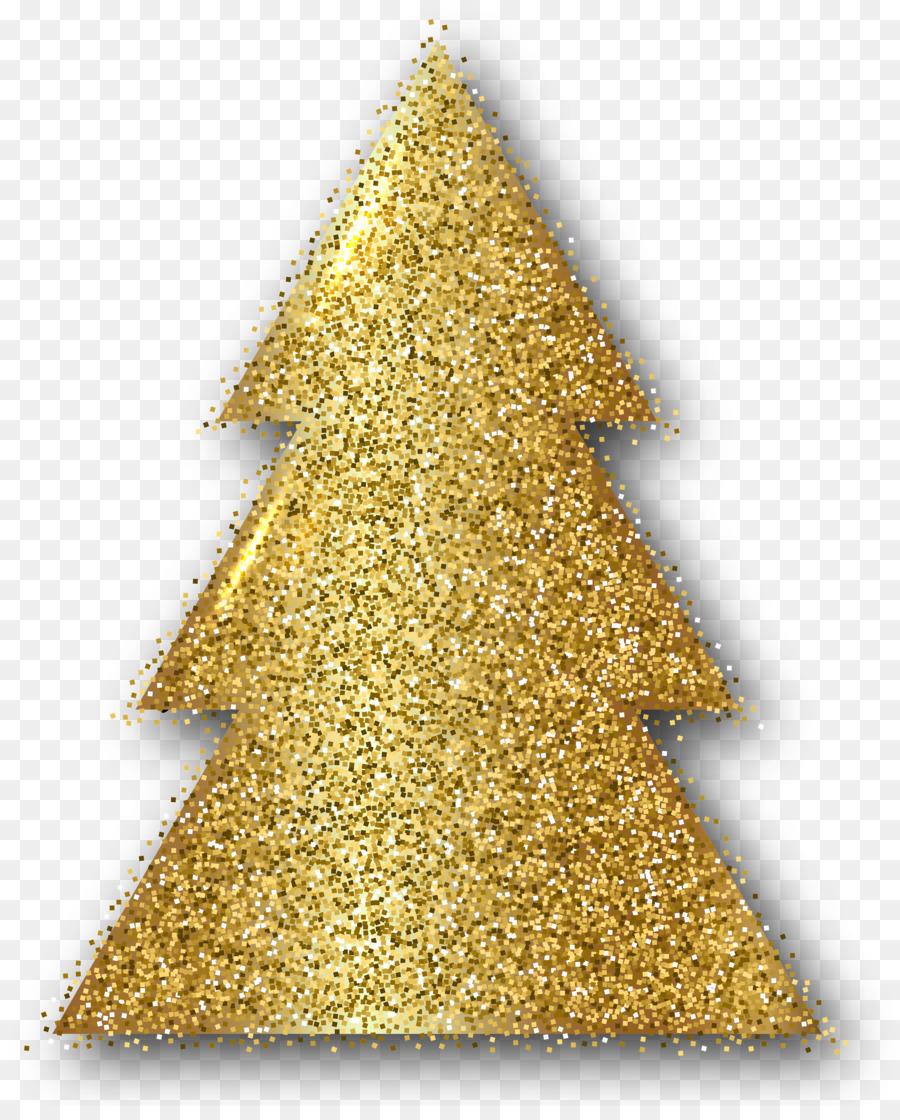 christmas ornament christmas tree gold clip art gold glitter