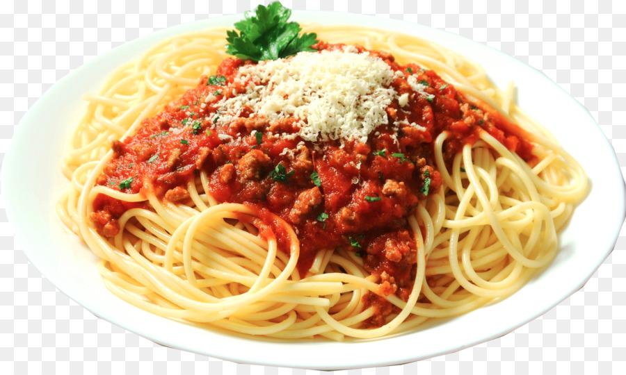 Pasta-Salat Bolognese Sauce italienische Küche Spaghetti - Spaghetti ...