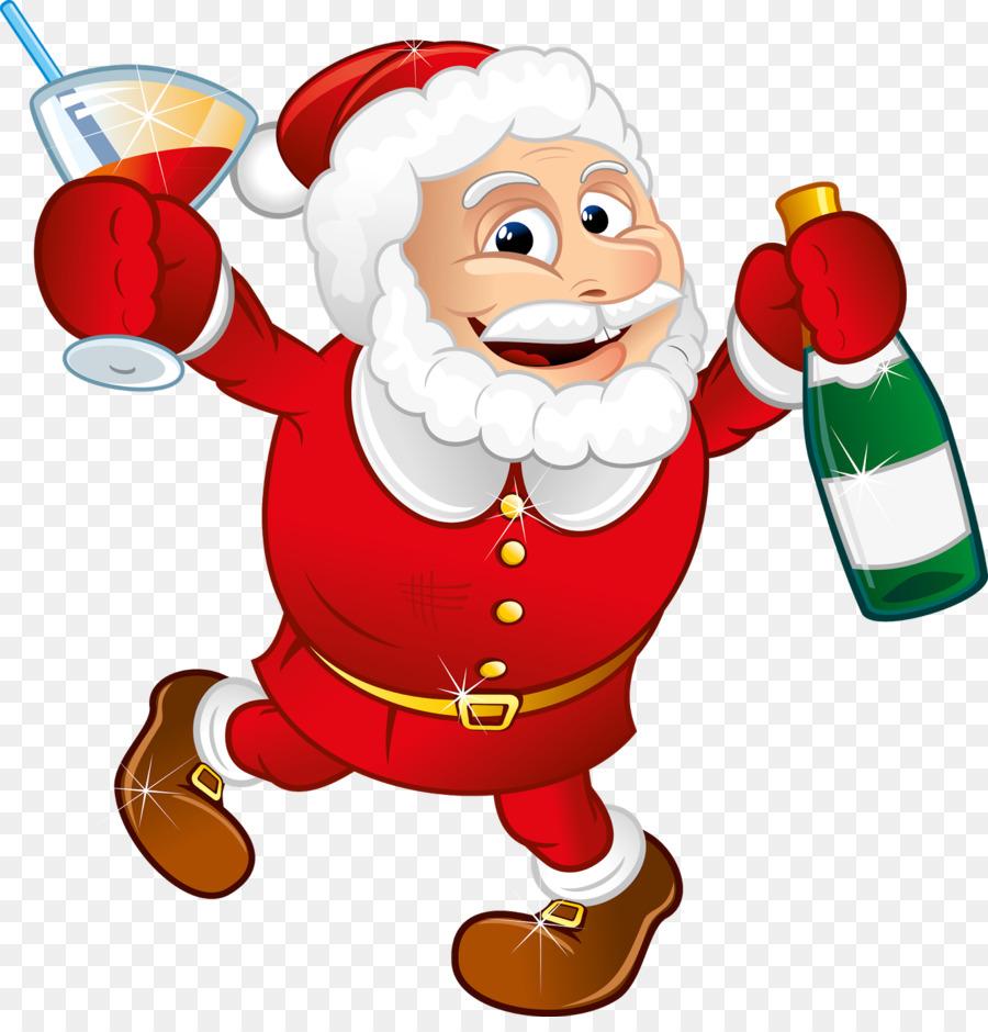 Weihnachtsmann Weihnachtsclip Art Heiligen Nikolaus Png