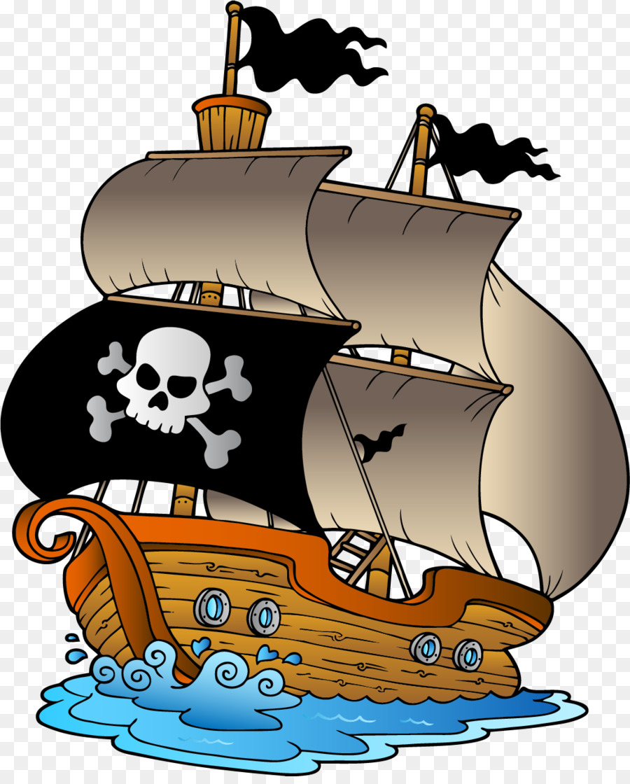 Сладкая парочка, картинки на пиратскую тему для детей