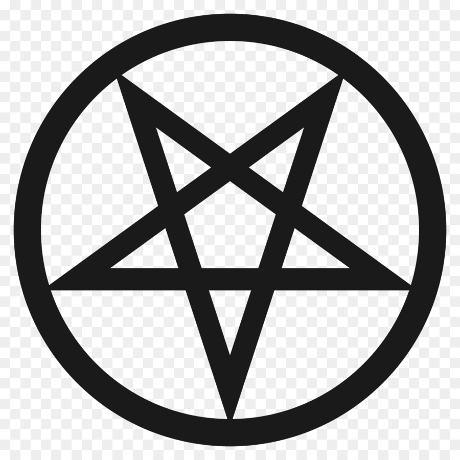 Pentagram Pentacle Satanism Symbol Baphomet Judaism Png Download